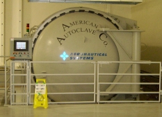an American Autoclave Company manufactured system for General Atomics
